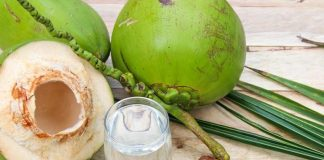 benefits of coconut water infographic