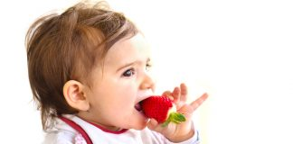 benefits of strawberry baby food