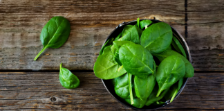 benefits of spinach for babies infographic