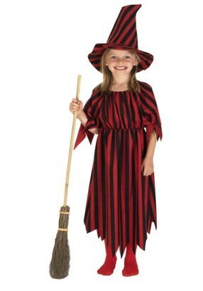 homemade Witch Costume for halloween
