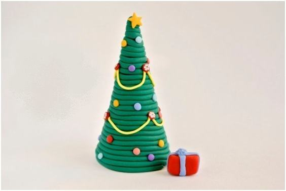 Christmas Tree With Rope