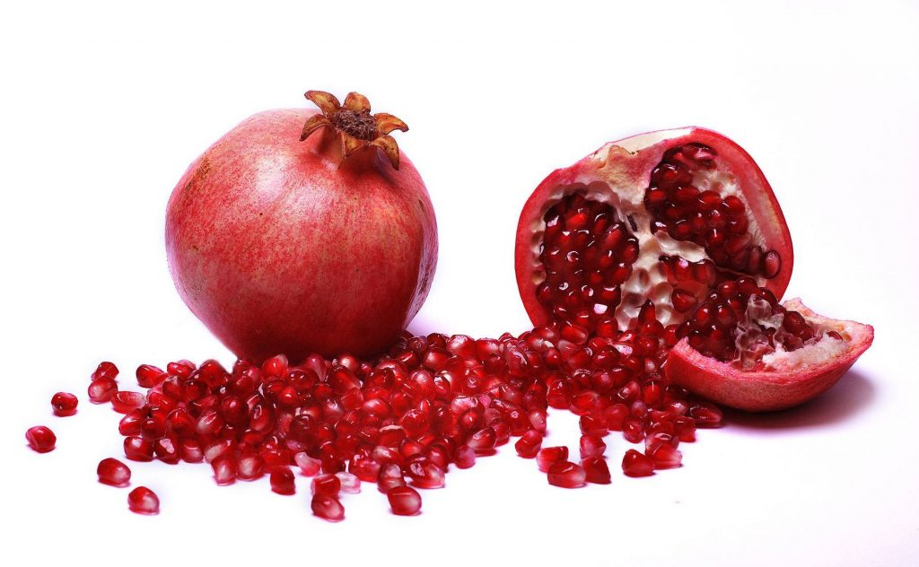 Winter fruits for Kids Pomegranate