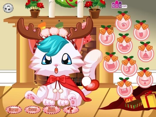 A Kitty Christmas Game