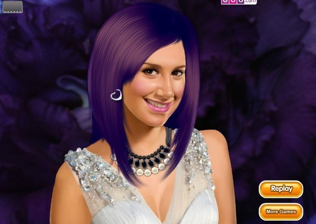Ashley Tisdale Makeover Game