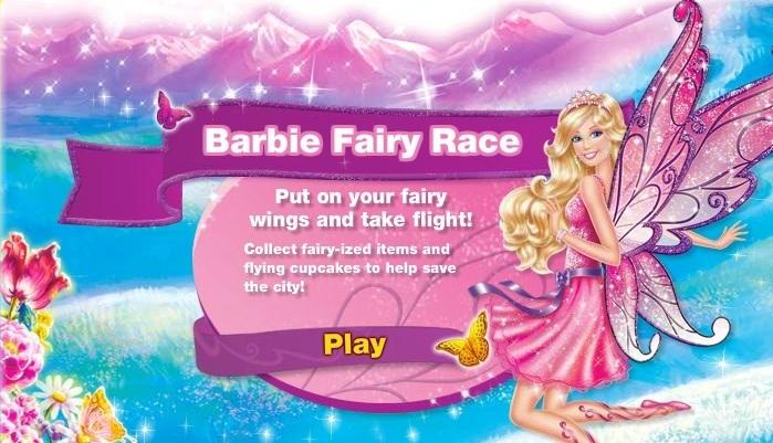 Barbie Fairy Race Game