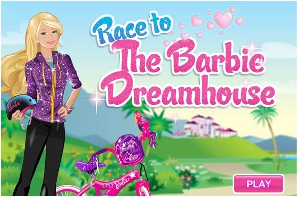 Barbie Race to the Dreamhouse Game