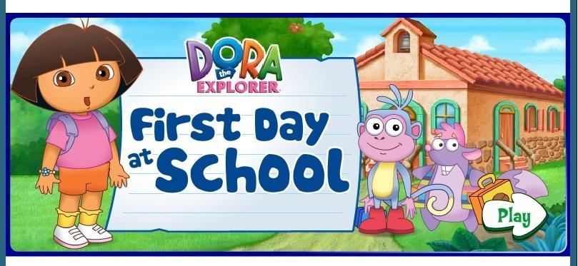 Dora First Day at School Dora Games