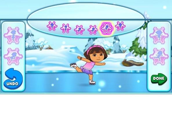 Dora Ice Skating Dora Games