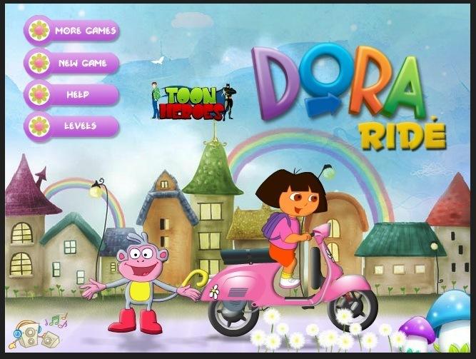 Dora Ride Dora Games