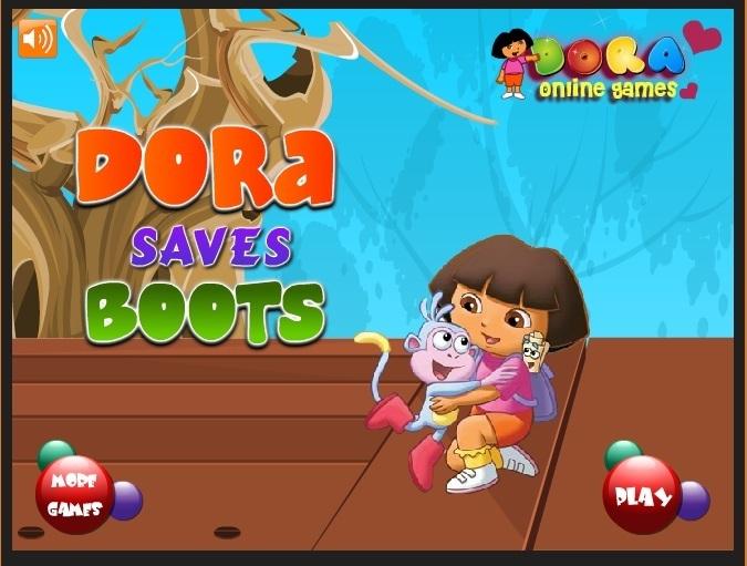 Dora Saves Boots Dora Games