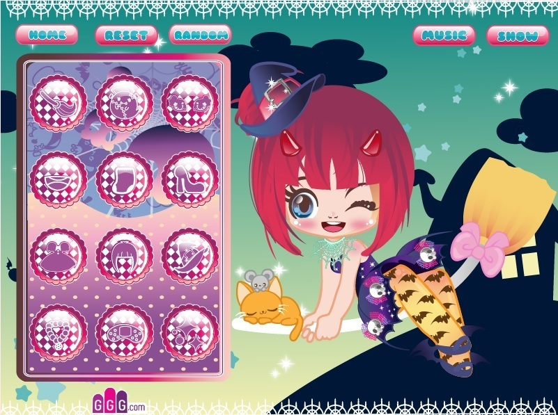 Witchy Cutie Game