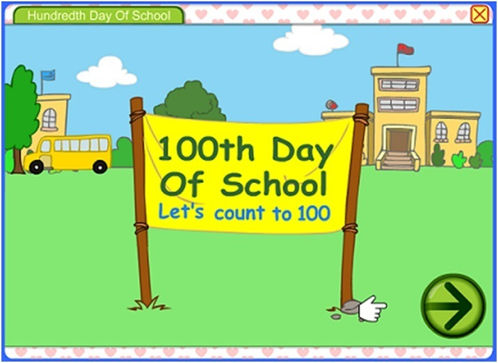 100th Day of School game