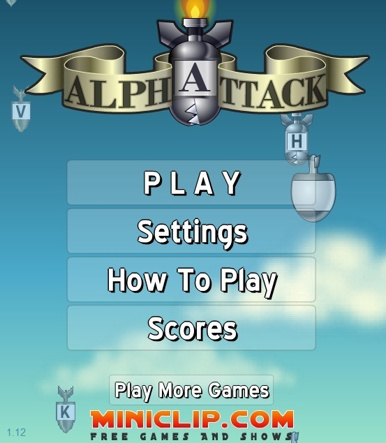 Alpha Attack Game