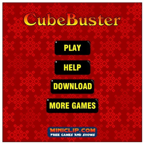 Cube Buster Game