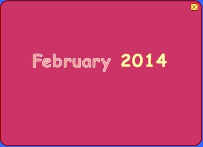 Calendar Game