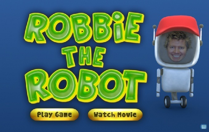 Robbie The Robot Game