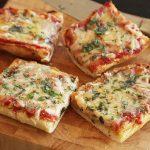 Bread Pizza Lunch Box
