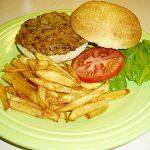 Veggie Burger for Lunch