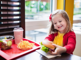 children affected by fast food