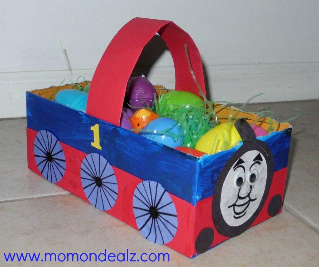 Box Easter Basket