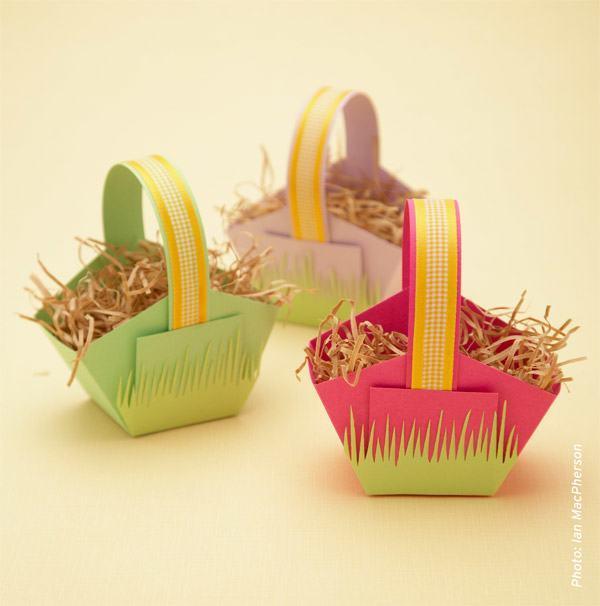 Carboard Easter Basket