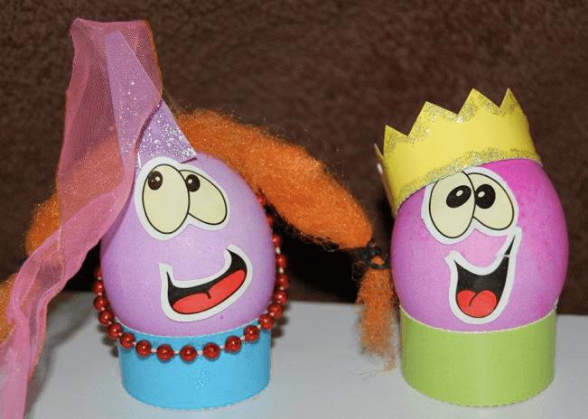 Crazy Easter Egg Decorations