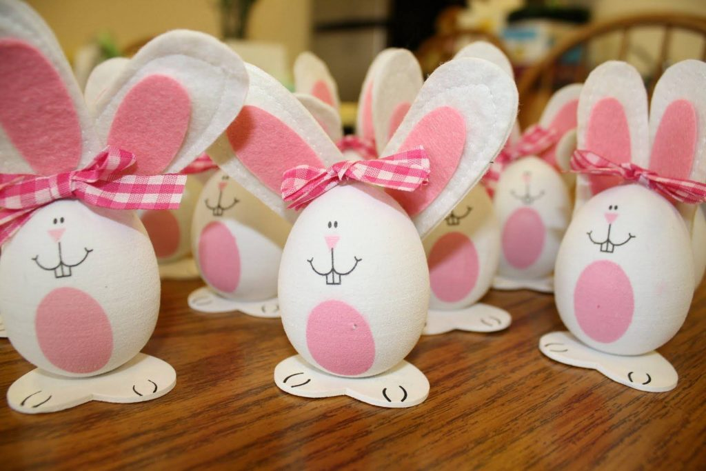 Easter Bunny From Eggs