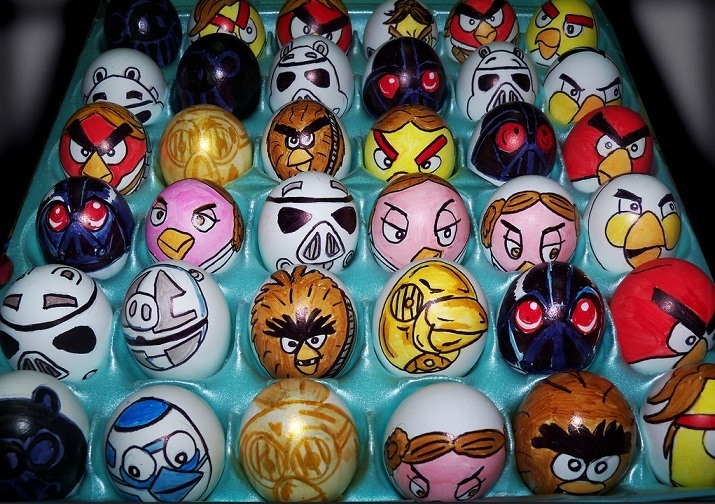 Easter Egg Angry Birds Star Wars