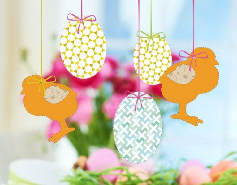 Easter Layout Hangings