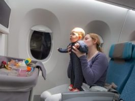 infants travel tips