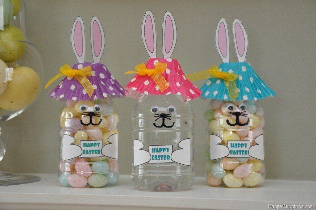 Jar Easter Bunny