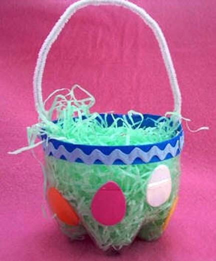 Pet Bottle Easter Basket