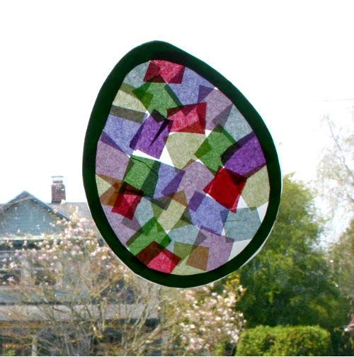 Easter Craft Stained Glass