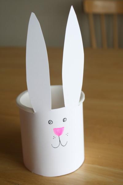 Bucket Easter Bunny