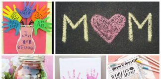 101 mothers day craft ideas