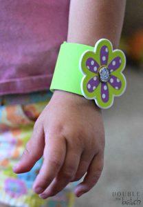 foam sticker bracelet