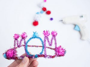 mom crown craft