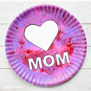 mom plates craft