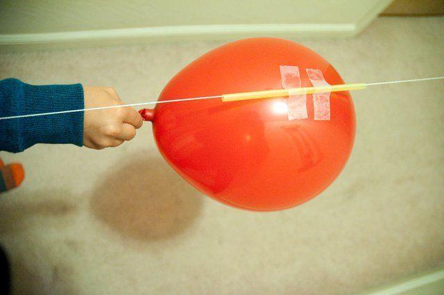Homemade Rocket With Ballon