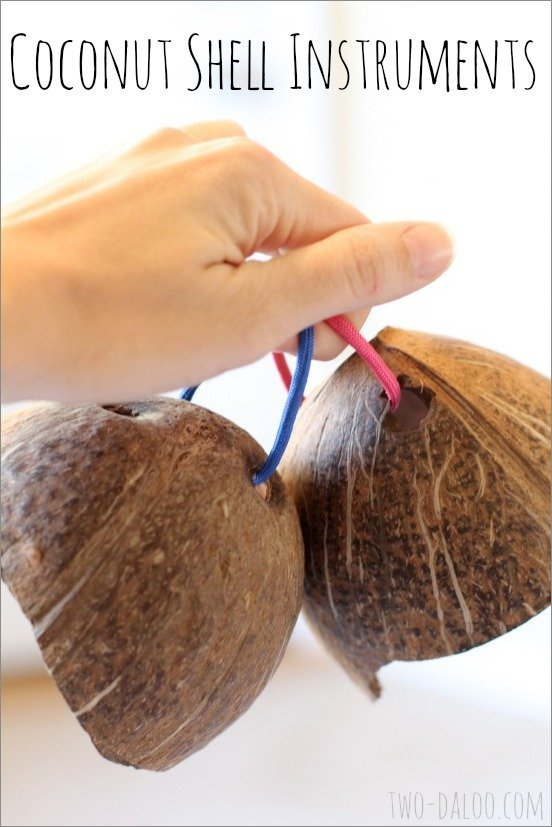 Coconut Shell Noisemakers