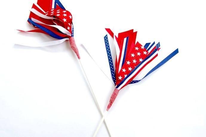 Flag Ribbon Wand