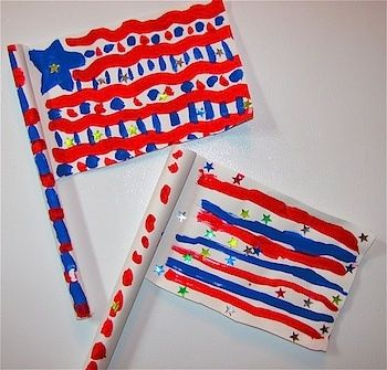 Flags with Paper and Pencil