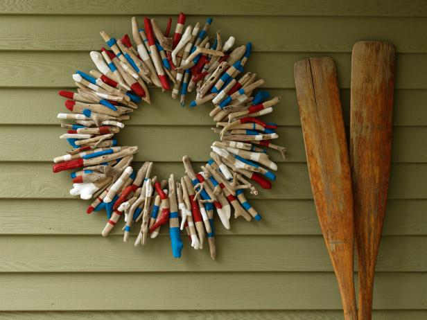 Garland Made From Twigs