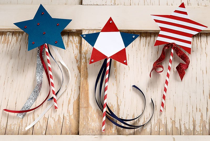 American Flag Papercrown