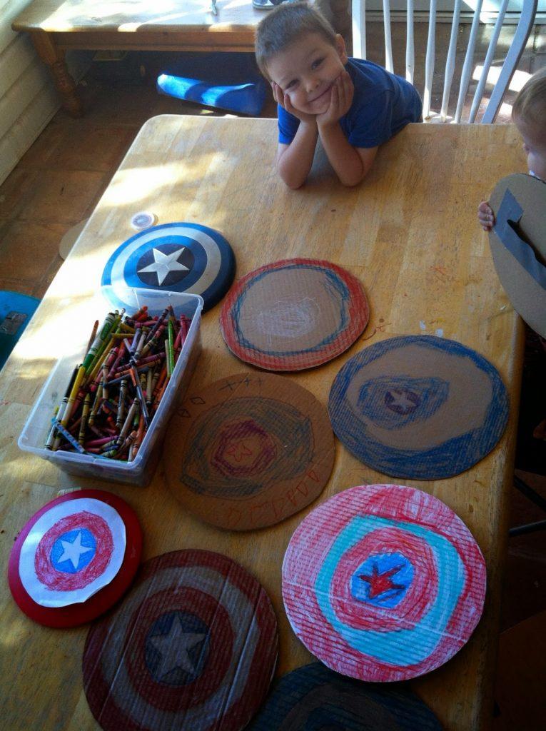 Captian America Shield Craft
