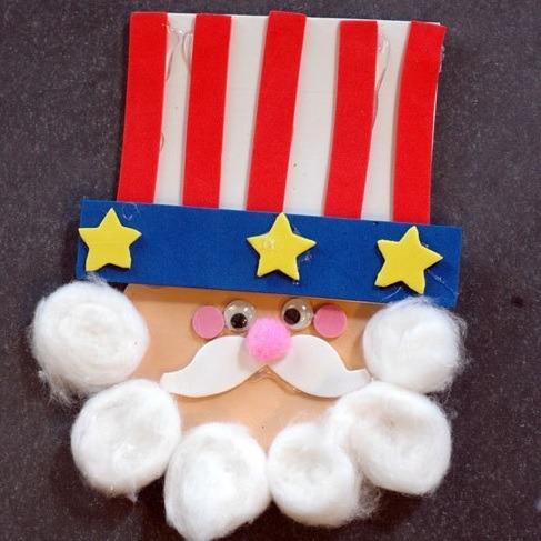 Cute Uncle Sam Craft