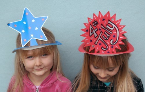Paper Plate Hat for Kids