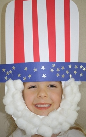 Uncle Sam Hat and Beard
