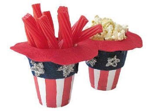 Uncle Sam Hat Treat Holders