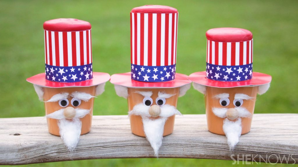 Uncle Sam Paper Cups